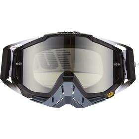 100% Racecraft Anti Fog Mirror Goggles, zwart